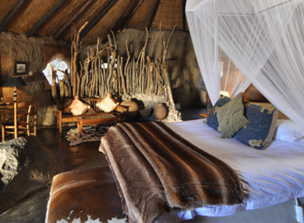 Room at Camp Amalinda, Zimbabwe