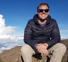 After travelling the world for close to 7 years, Cameron finally made it the continent he had been dreaming of from the beginning and spent three months exploring the different areas of Africa. From then on he was hooked and has since returned many times to explore and experience the many different adventures that Africa offers. From trekking with the gorillas in Rwanda, scuba diving the Red Sea, climbing a sand dune in Namibia to an encounter with a wild elephant from his front deck in the Okavango Delta, he never gets tired of seeing what there is to offer and considers himself lucky to be able to share his experiences with others for a living. He firmly believes that you haven't really travelled until you have experienced Africa and although there are still some small pockets of the world he hasn't been to (and would like to) he travels back to Africa any chance he can. In fact he was in the middle of a gorilla impersonation when he met his wife and believes this may have been what set him apart from many other suitors.