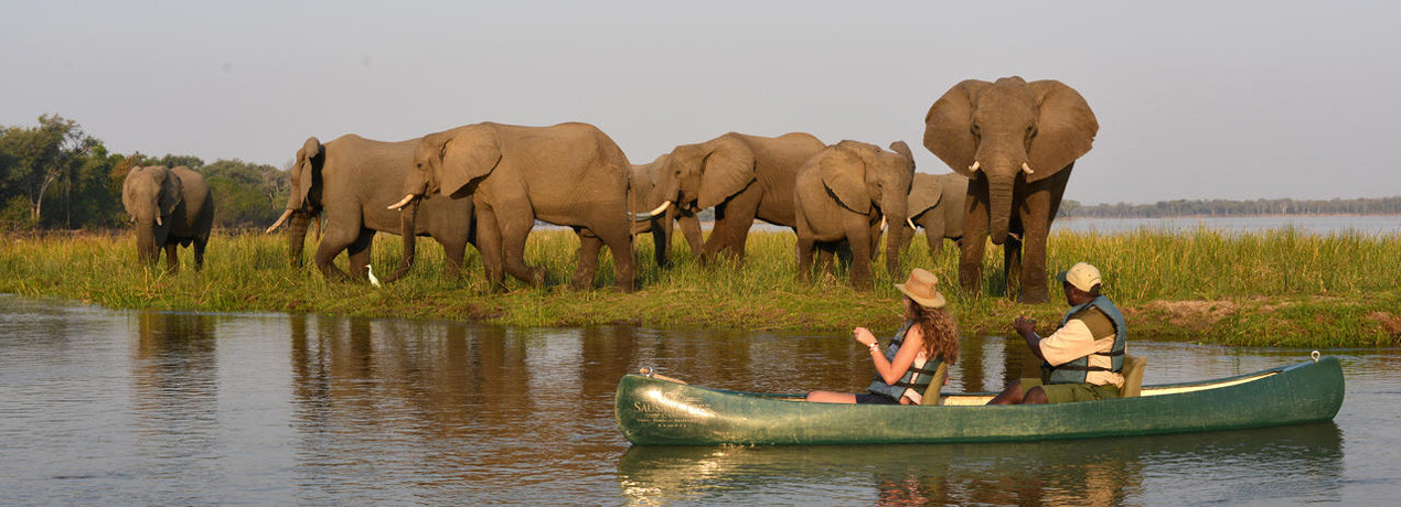 Water Activities in Lower Zambezi National Park