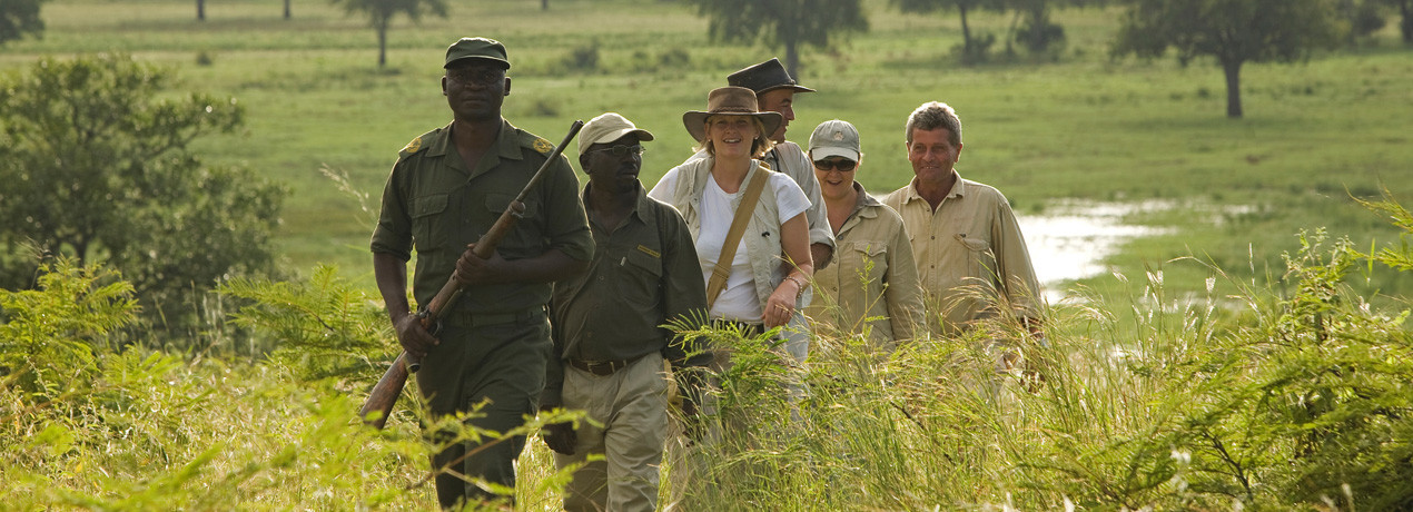 Game Walking in South Luangwa National Park - Zambia