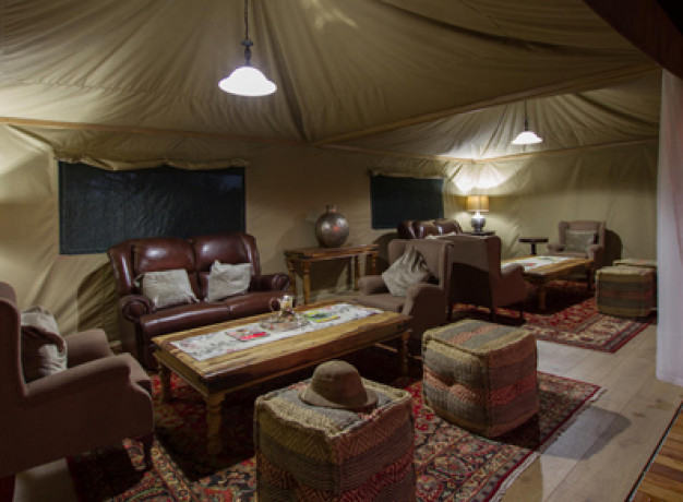Kadizora Camp Lounge Area