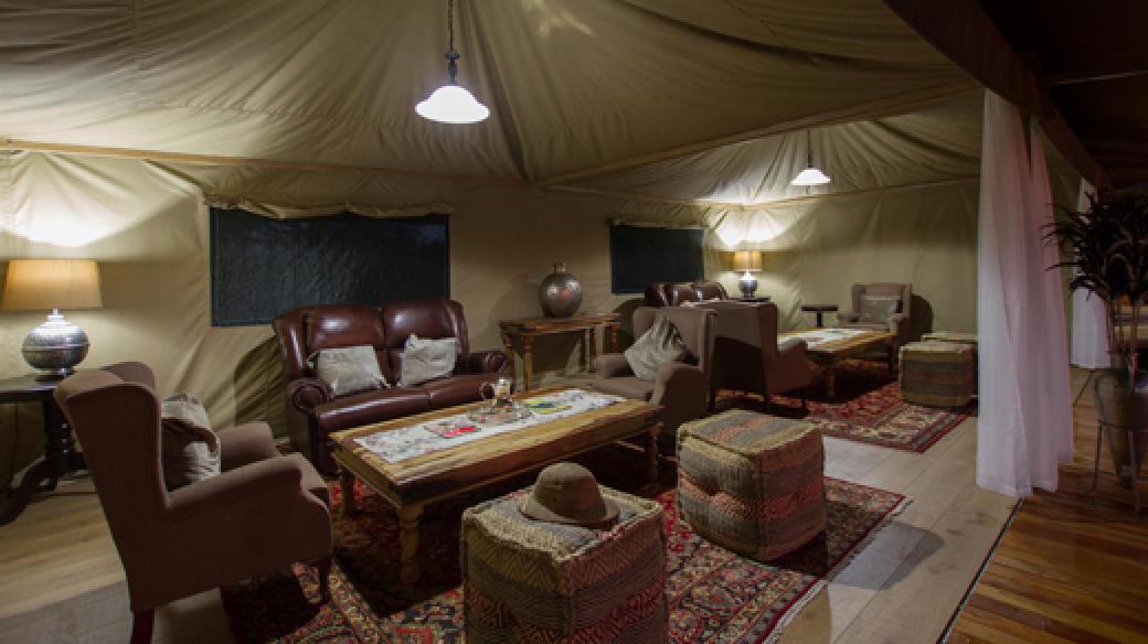 Kadizora Camp Lounge Area