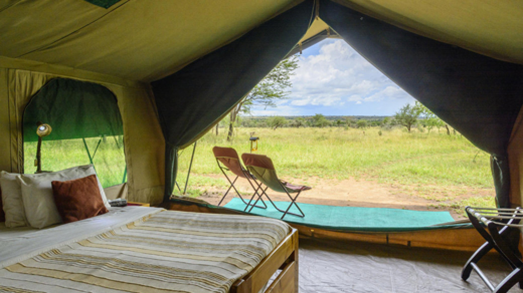 Serengeti Wilderness Safari Tent