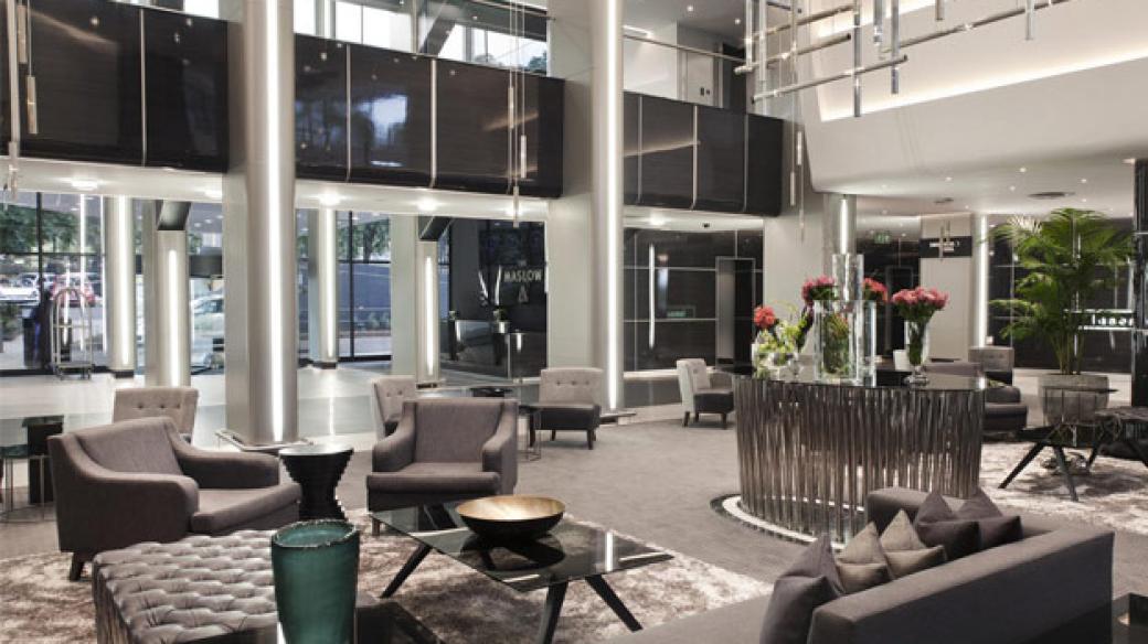 Maslow Hotel Reception