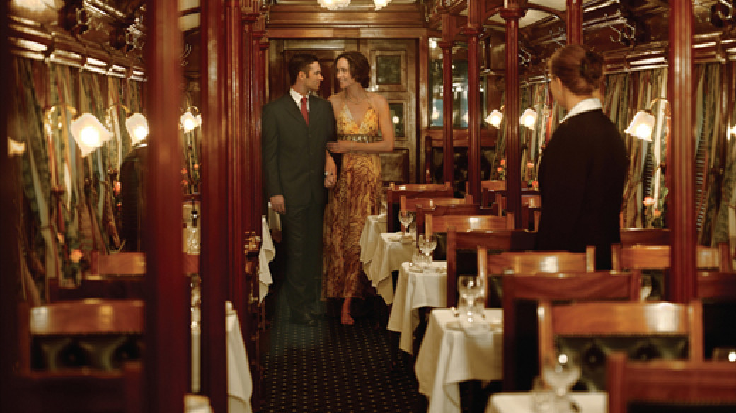 Dining Carriage, Rovos Rail