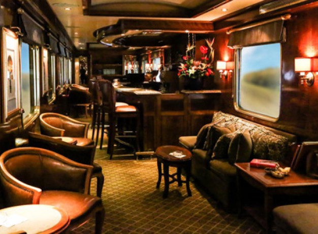 The Blue Train - Club Room