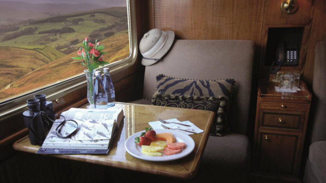 The Blue Train - Deluxe Suite - Daytime