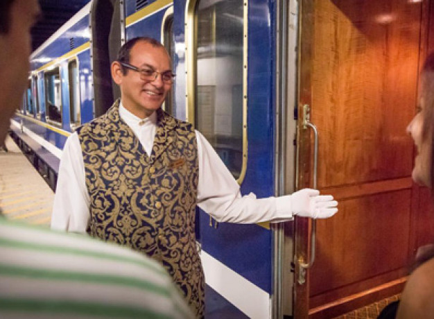 The Blue Train - Luxury Rail Travel