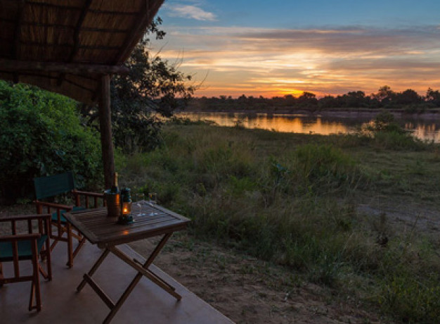 Flat dogs Camp South Luangwa