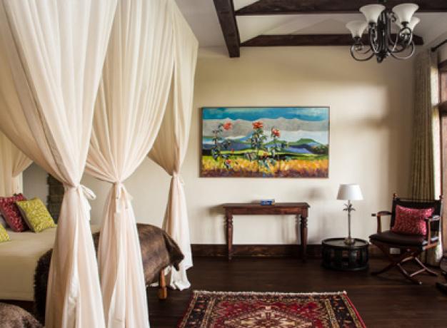 Gibbs Farm Bedroom - Ngorongoro, Tanzania