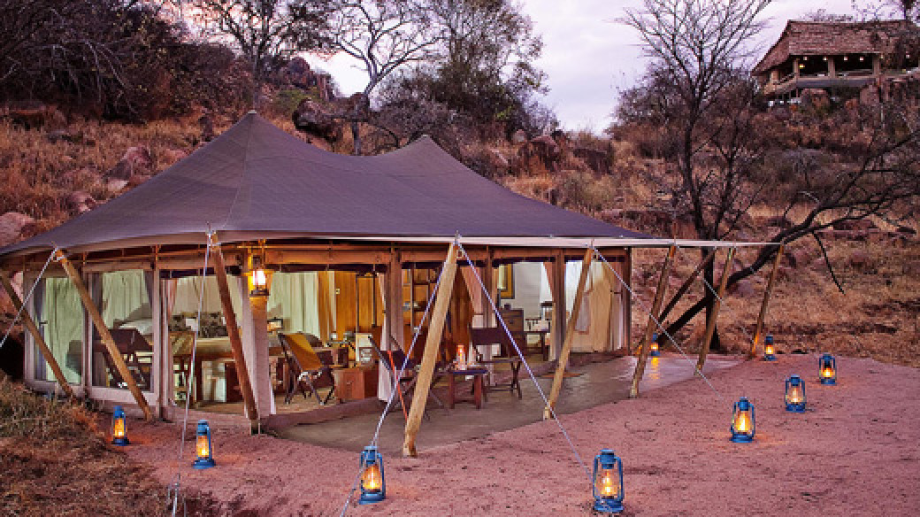 Luxury Safari Camp Serengeti