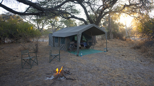 Mobile Camping Botswana