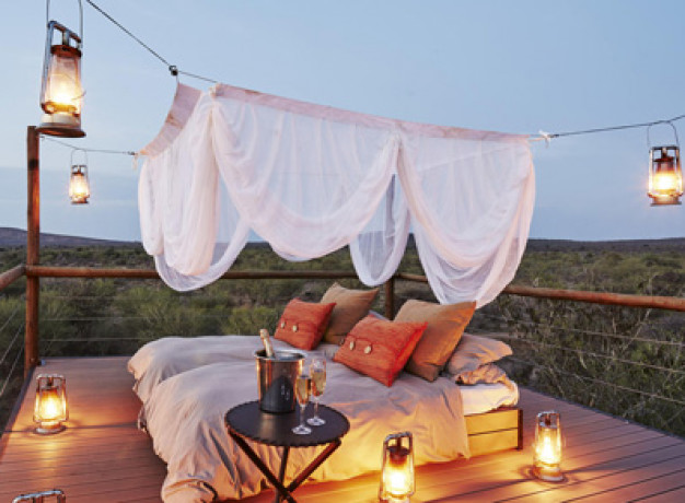 Sleep under the stars in South Africa
