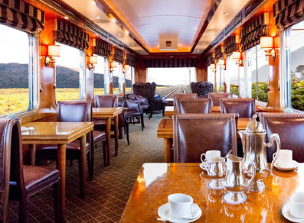 The Blue Train - Observation Car