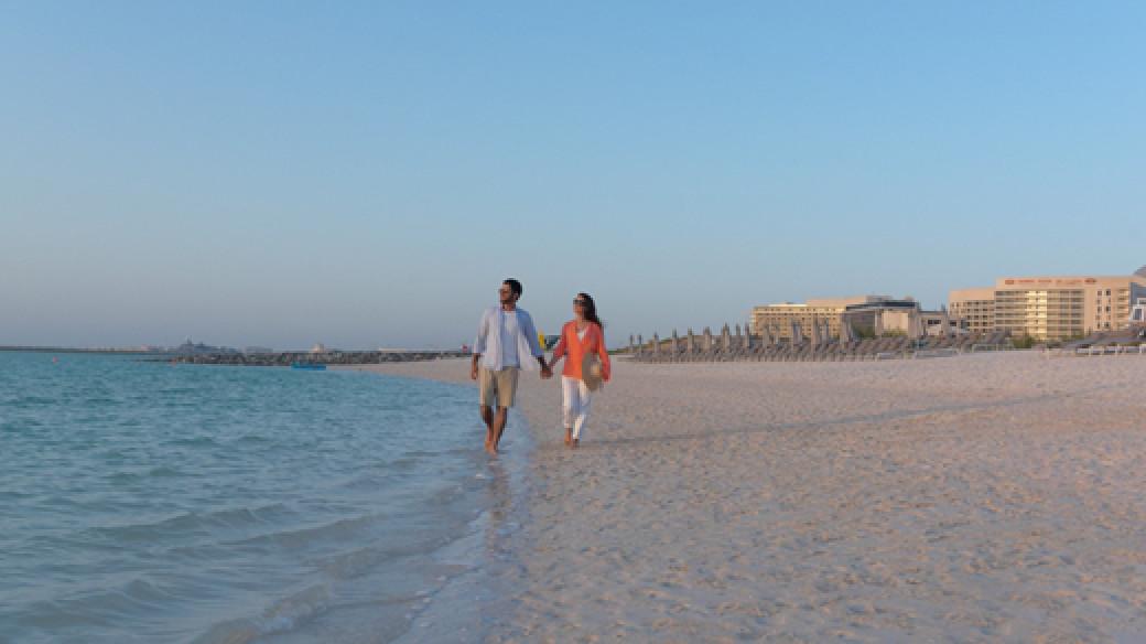 Crowne Plaza Abu Dhabi Yas Island - Beach
