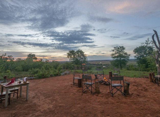 Chobe Elephant Camp - Boma Area