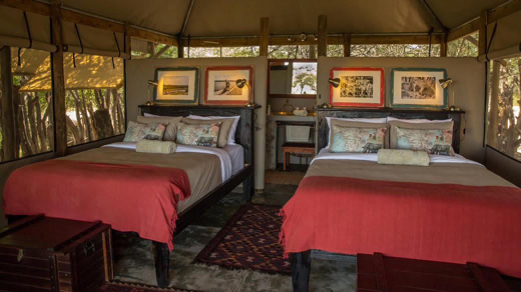Meno A Kwena - Bedroom
