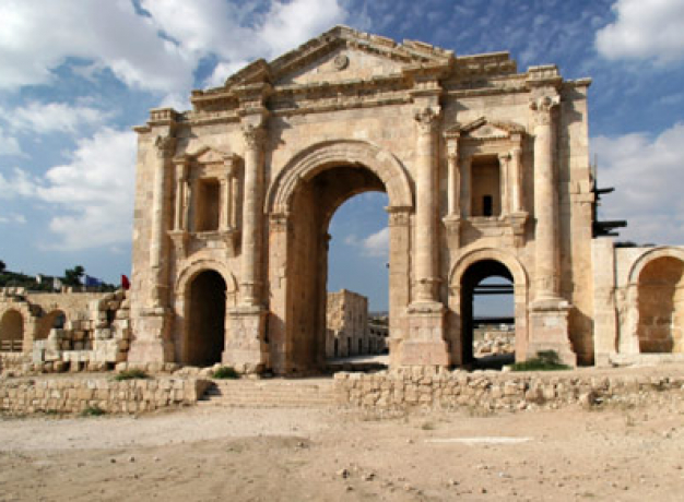 Roman ruins - Jerash, Jordan