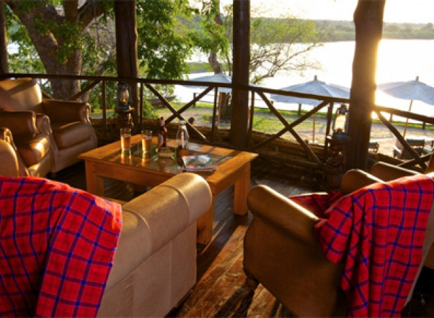 Rufiji River Camp - Guest Area