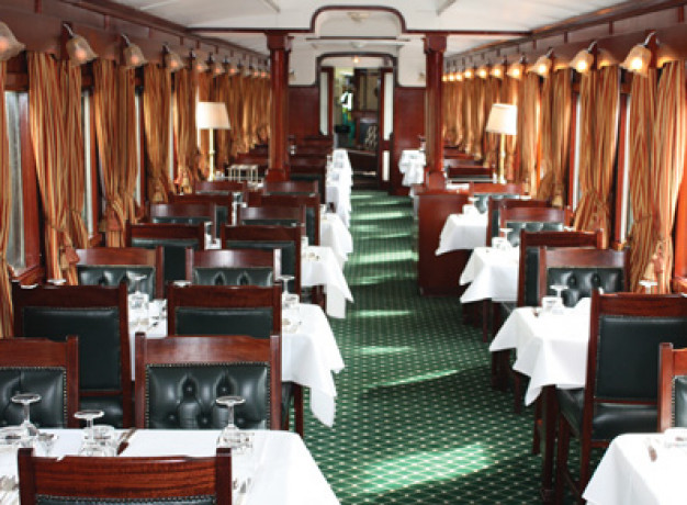 Shongololo Express - Dining Carriage