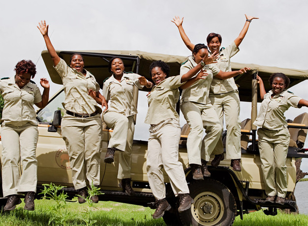 Girl Power Africa Safari