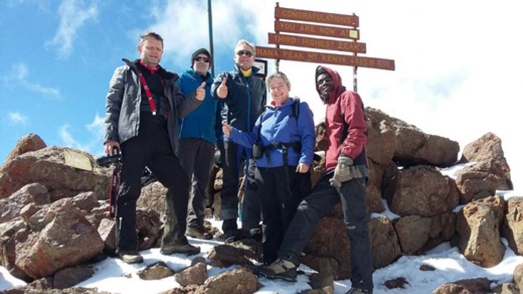Climb Mount Kenya