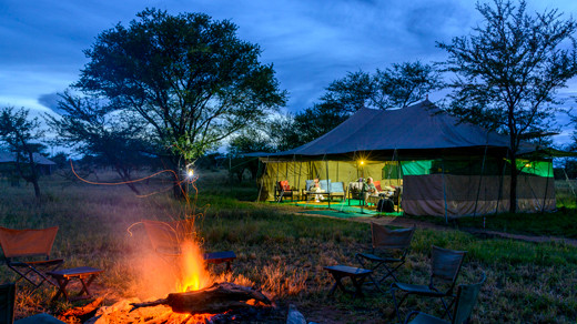 Serengeti Camping Safari
