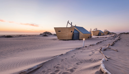 Shipwreck Lodge is a striking eco-hotel that's helping open up the Skeleton Coast to intrepid travellers