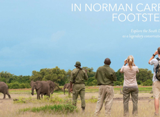 Norman Carr Authentic Walking Safaris in Zambia