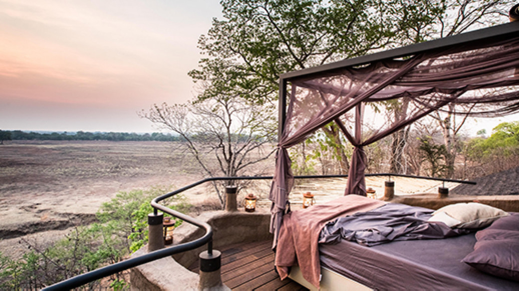 Puku Ridge Camp is in a remote part of the South Luangwa National Park, overlooking a wildlife-rich lagoon where there is seemingly always something to see.