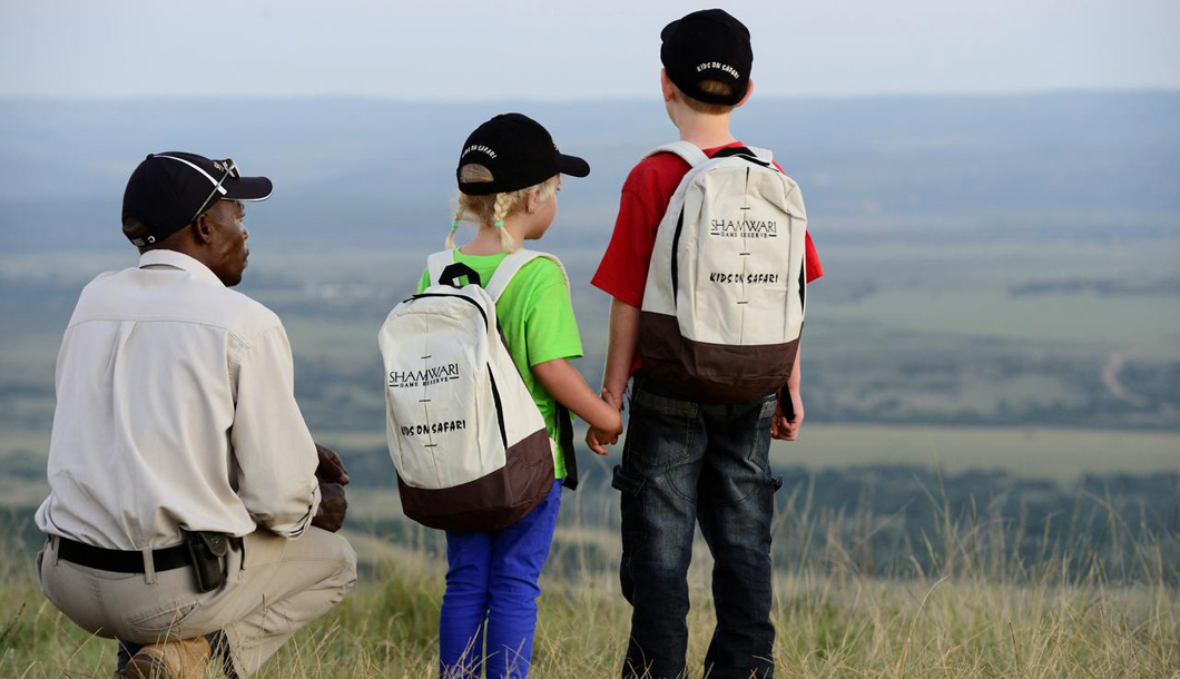 African safaris offer fantastic educational opportunities for the whole family.