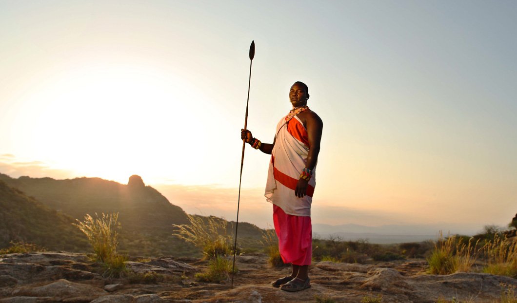 One of Stephanie's favourite spots is Samburu, in Northern Kenya