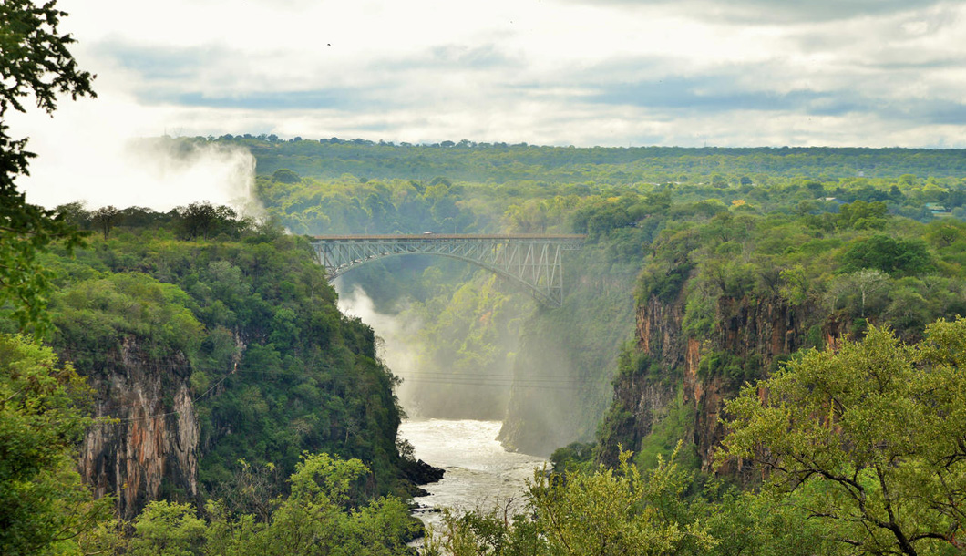 View of Victoria Falls Bridge