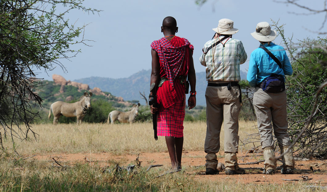 If you want to get a real feel for the wilds of Africa, why not explore it on foot?