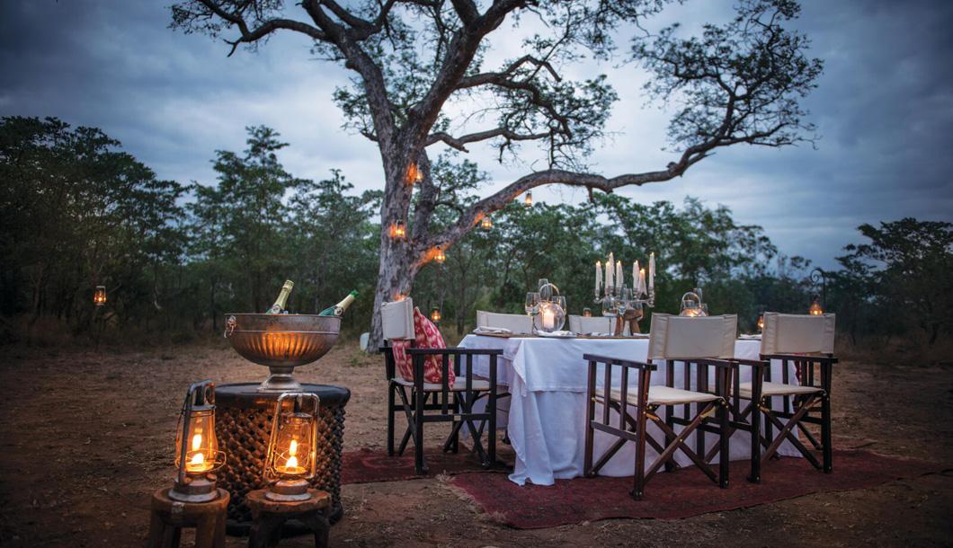 Private Bush Dinner at Dulini Lodge