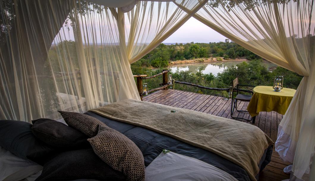 Sleep out Deck at Garonga Safari Camp