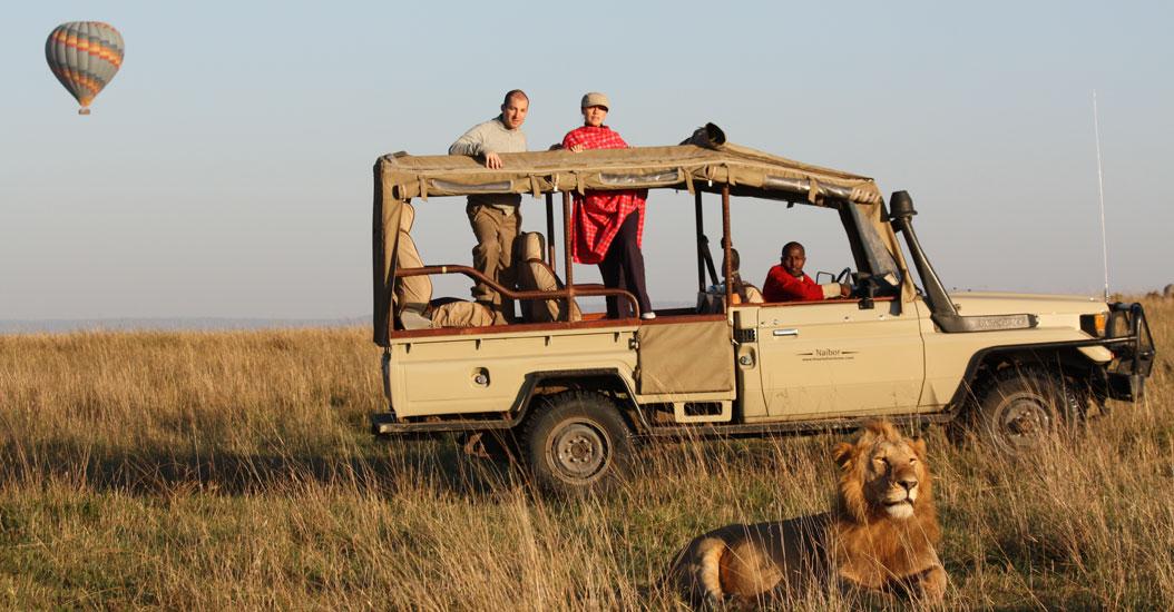 Game Drive on Safari in Masai Mara, Kenya