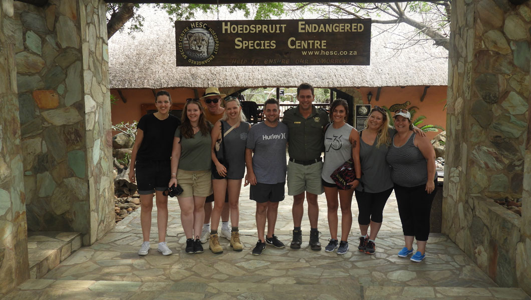 Volunteering at The Hoedspruit Endangered Species Centre