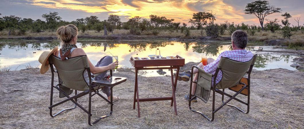 Camp Kuzuma - in the Chobe region of Botswana