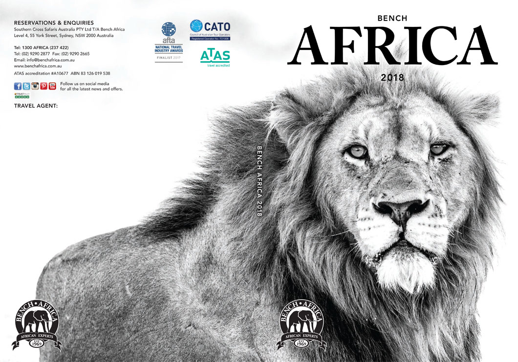 2018 Bench Africa Brochure Cover