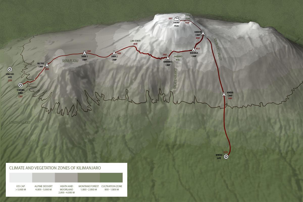 The Lemosho Route