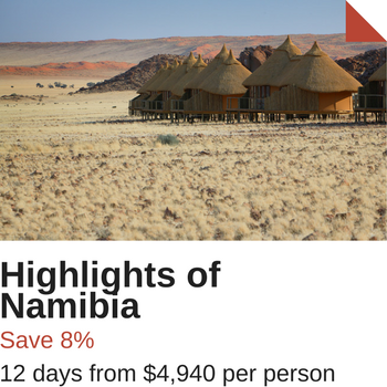 Namibia Safari Special Offer