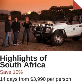 South Africa Travel Sale