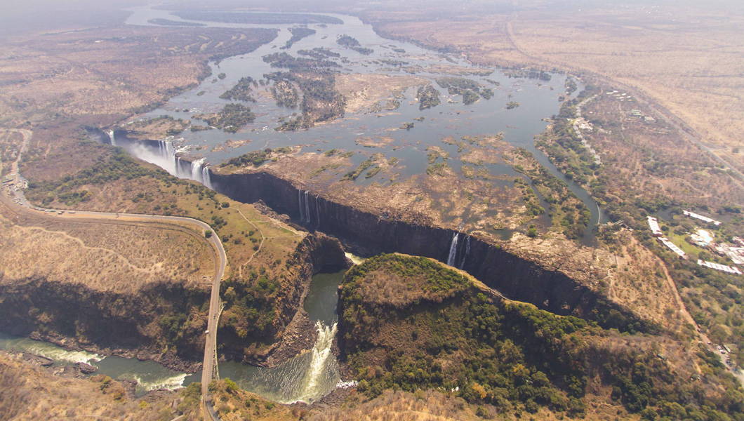 Victoria Falls in September
