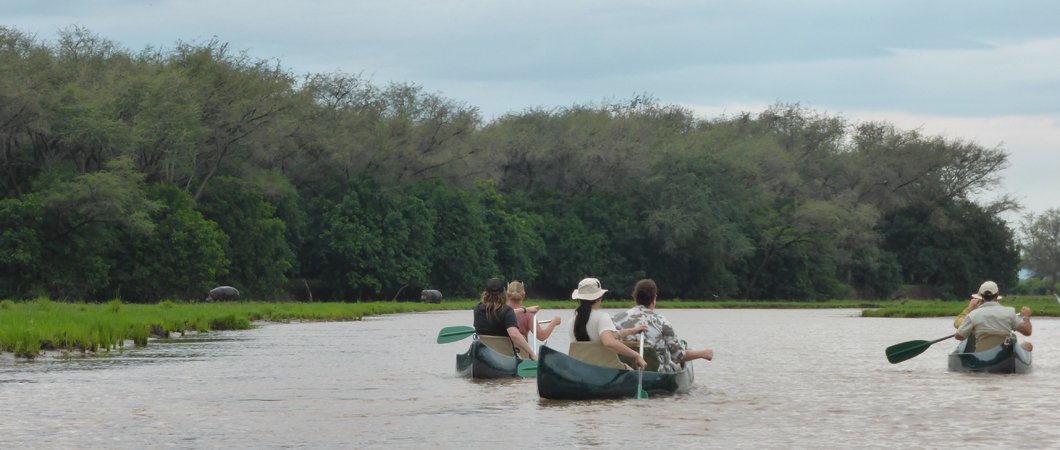 And here we are drifting in the Lower Zambezi