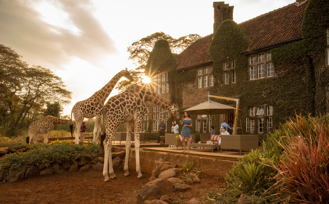 Giraffe Manor offers one of the world's most unique breakfasts
