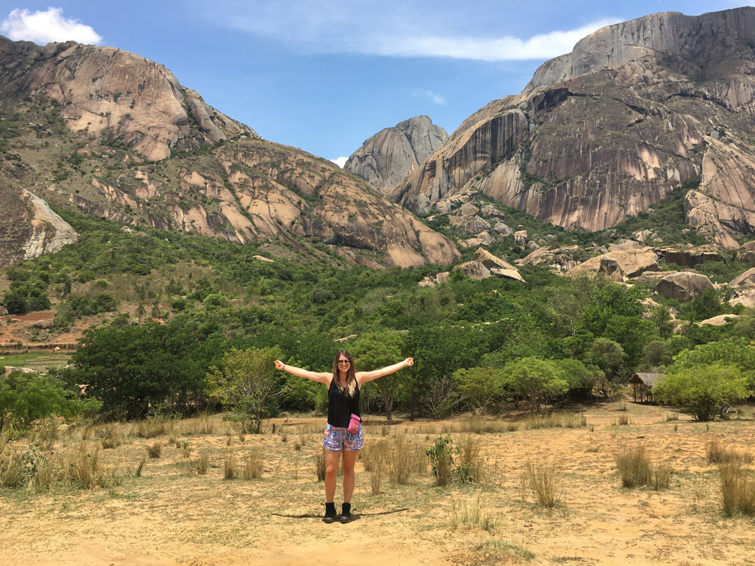Our Madagascar Travels: The Mountain Range at Fianarantsoa